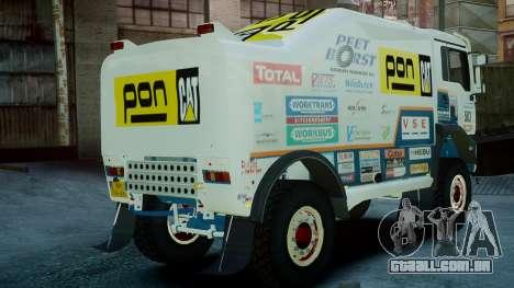MAN TGA GINAF Dakar Race Truck para GTA 4 esquerda vista