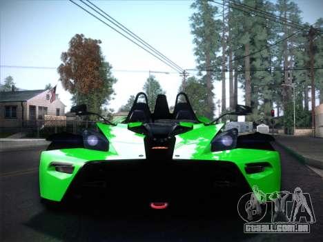 KTM Xbow R para GTA San Andreas vista direita
