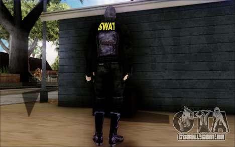 SWAT de Postal 2 para GTA San Andreas terceira tela