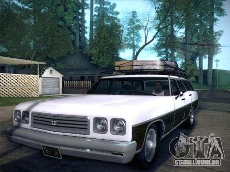 Regina from GTA V para GTA San Andreas esquerda vista