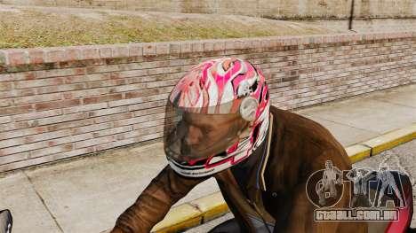 Uma coleção de capacetes Arai v2 para GTA 4 terceira tela