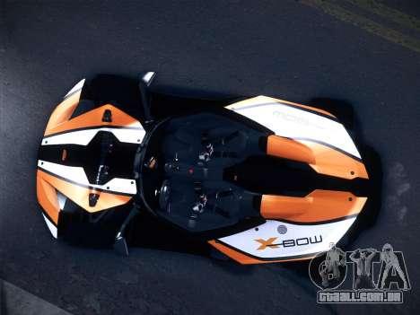KTM Xbow R para GTA San Andreas esquerda vista