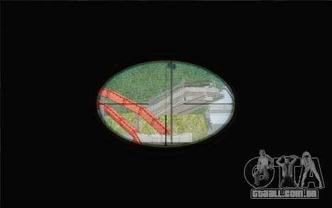 Enhanced Sniper Scope v1.1 para GTA San Andreas terceira tela