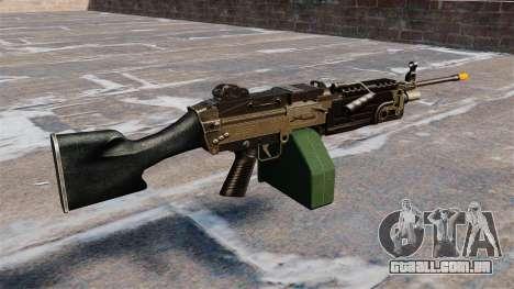 A M249 luz metralhadora Airsoft para GTA 4 segundo screenshot