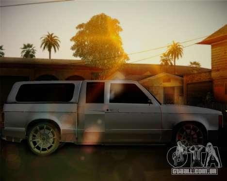 Isuzu KB para GTA San Andreas esquerda vista