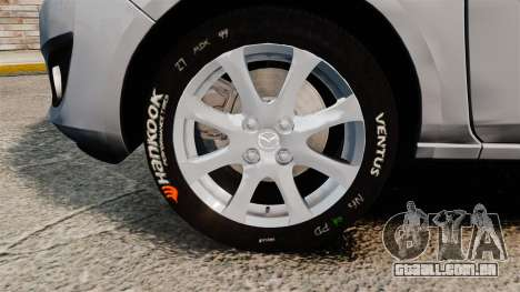 Mazda 2 para GTA 4 vista de volta