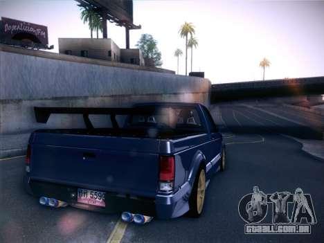 Mitsubishi Cyclone para GTA San Andreas traseira esquerda vista