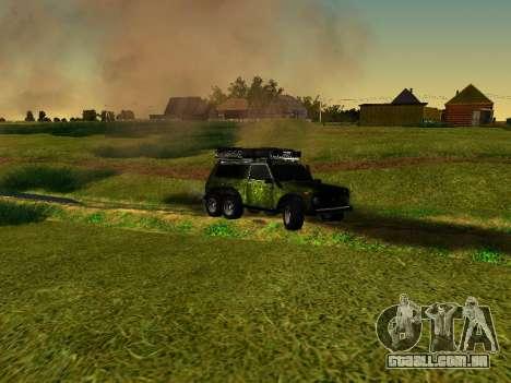 VAZ 212140 Hunter para GTA San Andreas vista direita
