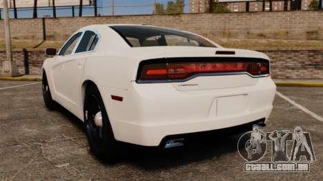 Dodge Charger 2014 para GTA 4 traseira esquerda vista