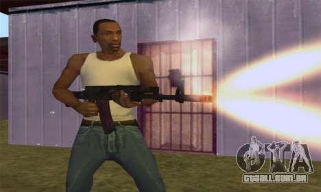 AK-12 para GTA San Andreas sétima tela