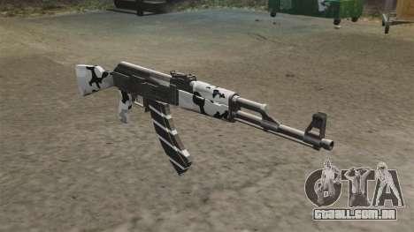 Inverno de AK-47 para GTA 4