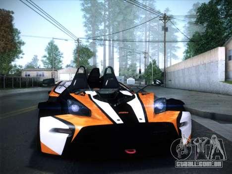 KTM Xbow R para GTA San Andreas