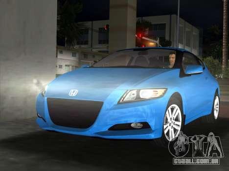 Honda CR-Z 2010 para GTA Vice City