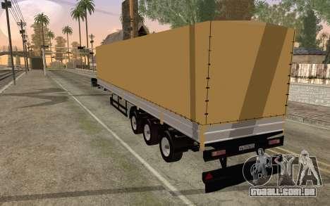 Nefaz do DB2 para GTA San Andreas esquerda vista