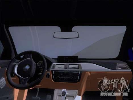 BMW F32 4 series Coupe 2014 para GTA San Andreas vista superior