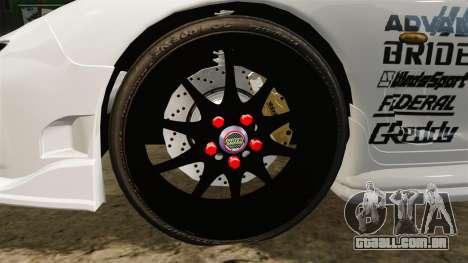 Mazda RX-7 para GTA 4 vista de volta