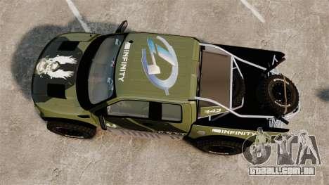 Ford F150 SVT 2011 Raptor Baja [EPM] para GTA 4 vista direita