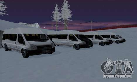 Ford Transit Jumgo para o motor de GTA San Andreas