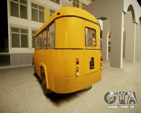 Escola de Kavz-685 para GTA 4 vista direita