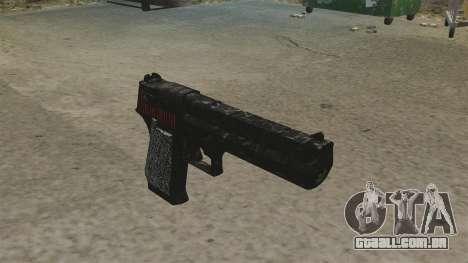 Desert Eagle pistola Propa Gangsta para GTA 4