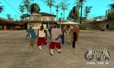 Nigga Collection para GTA San Andreas