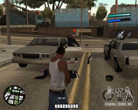 C-HUD by Tom para GTA San Andreas segunda tela