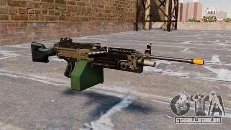 A M249 luz metralhadora Airsoft para GTA 4