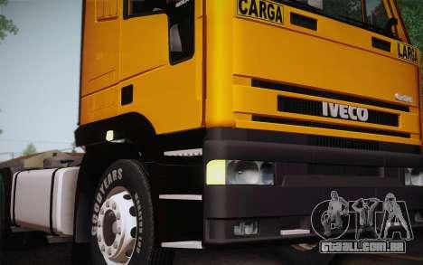 Iveco EuroTech 6x4 Doors para GTA San Andreas vista direita
