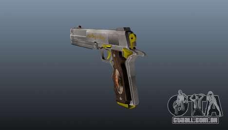 Pistola de marfim para GTA 4 segundo screenshot