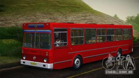 LIAZ 5256.00 pele-Pack 5 para GTA San Andreas esquerda vista