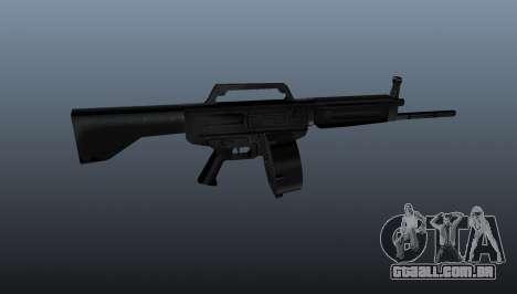 Espingarda Daewoo USAS-12 para GTA 4 terceira tela