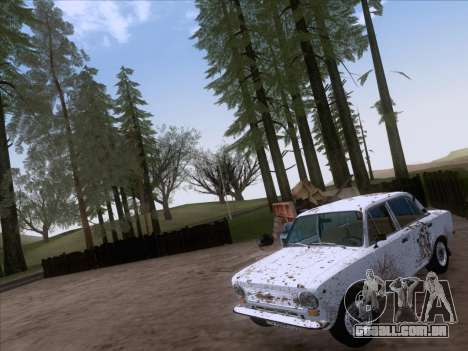 VAZ 21011 Cottage para GTA San Andreas vista interior