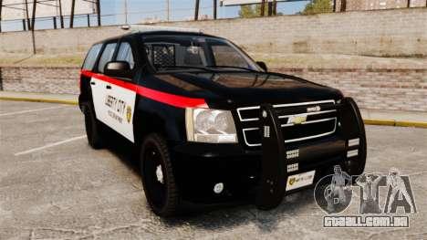 Chevrolet Tahoe 2008 LCPD STL-K Force [ELS] para GTA 4