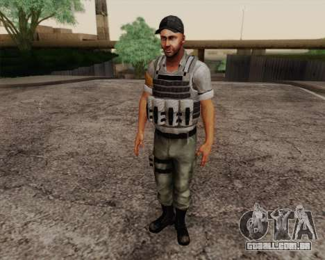 Mercenário de Far Cry 3 para GTA San Andreas