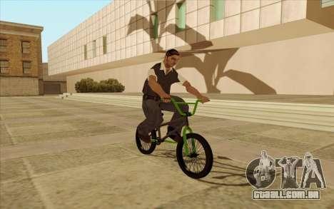 BMX para GTA San Andreas vista superior