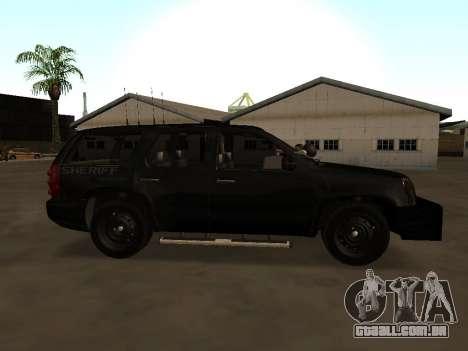 GMC Yukon ATTF para GTA San Andreas