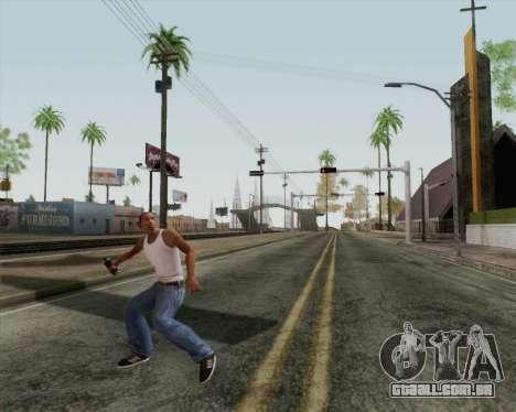 Granada de assalto de HD para GTA San Andreas terceira tela