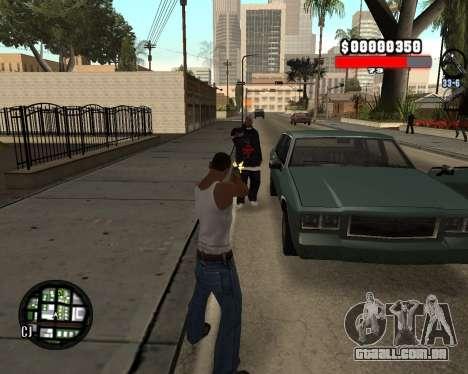 C-Hudik para GTA San Andreas terceira tela