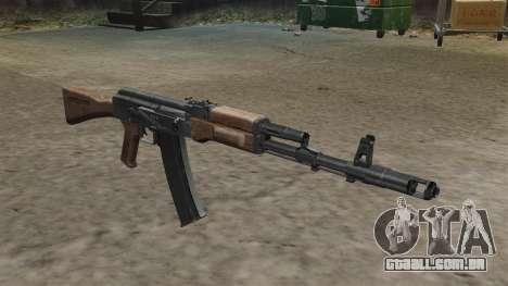 Estoque de AK-74 para GTA 4