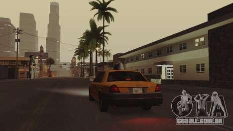 ENB ensolarado para PCs de baixo ou médios para GTA San Andreas por diante tela