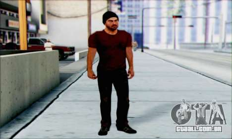 Grant Brody de Far Cry 3 para GTA San Andreas segunda tela