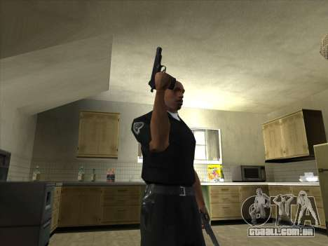 Armas de Pak domésticos para GTA San Andreas terceira tela