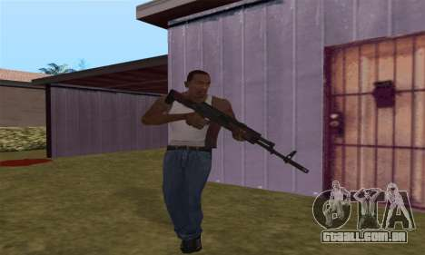 AK-12 para GTA San Andreas oitavo tela