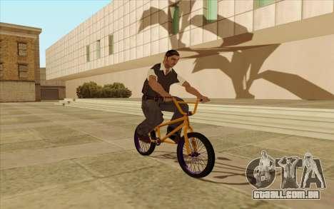 BMX para GTA San Andreas vista direita