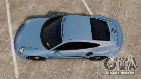 Porsche 911 Turbo 2014 [EPM] KW iSuspension para GTA 4 vista direita