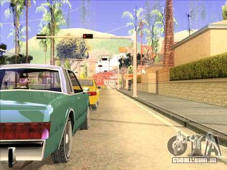 Reflexão única de ENB em máquinas para GTA San Andreas segunda tela