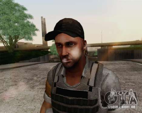 Mercenário de Far Cry 3 para GTA San Andreas terceira tela