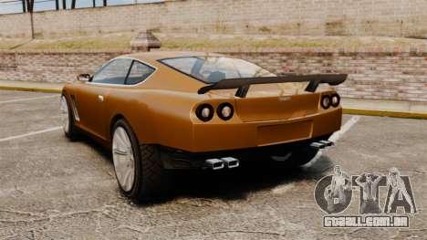 Super GT Ultra para GTA 4 traseira esquerda vista
