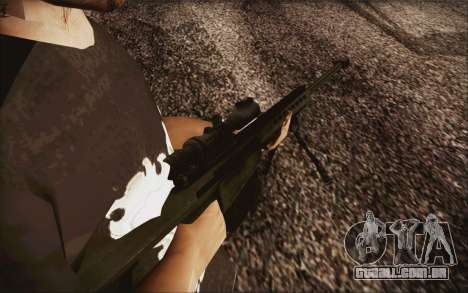 Barrett M82 para GTA San Andreas segunda tela