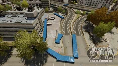 Drift em torno da cidade para GTA 4 quinto tela